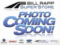 Options Included: N/AFamily owned Bill Rapp Super Store