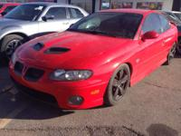 clean and actually nice GTO with a 6.0 V8 wich is