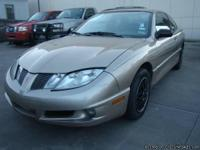 2005 PONTIAC SUNFIRE 2D AUTOMATIC 2.2L 4CYL BLUE/CLEAN