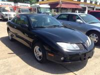 2005 Pontiac Sunfire A clean ride with am/fm radio and