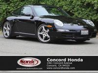This Porsche 911 has a dependable Gas Flat 6-cyl