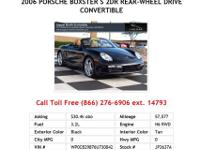 2005 Porsche Boxster S 2dr Rear-wheel Drive Convertible