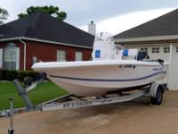 2005 Pro-Line 17' Sport Boat has new power head with 1