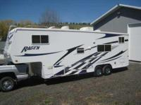 This 2005 Ragen Toy hauler is priced to offer