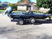 Description Ranger boat- year 2005-length 19 feet-150hp