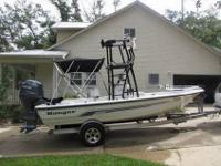 One owner boat.2005 Ranger Bay Tower Boat with a Yamaha