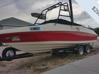 - Stock #077077 - This Rinker Captiva 232 BR is part
