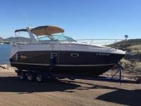About 86 hours. For sale is a 2005 Rinker Fiesta Vee