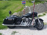 I have a fuel injected road king police for sale, all