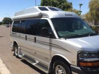 2005 ROADTREK 170 class B Rv van with Wheelchair power