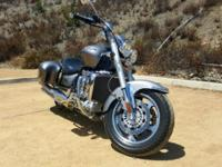 2005 Triumph Rocket 3 in Titanium Grey. If this is