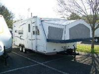 2005 Roo by Rockwood model 23B This camper is 23' long