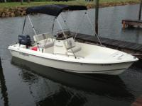 90 HP Yamaha with recent power head and service. Great