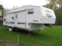 32 Foot Bunk House Fifthwheel ... 7500 lbs with rear