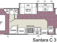 (915) 247-0901 ext.327 Used 2005 Coachmen Santara
