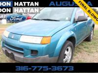 Clean CARFAX. Blue 2005 Saturn VUE FWD 5-Speed Manual