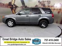 2005 Saturn VUE CARS HAVE A 150 POINT INSP, OIL