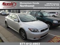 Options Included: N/AThis 2005 Scion TC coupe has a