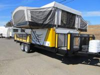 2005 Fleetwood Scorpion Tent Trailer w/Front Cargo Deck