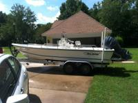 I have a 2005 Sea boss 21FT Bay Boat for sale. It has a