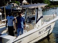 Description 2005 Sea Boss 25 Ft. Center Console With