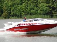 SUPER MINT 2005 Sea Doo 200 Speedster edition jet boat.