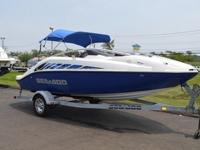 THIS 20FT SEA-DOO IS POWERED WITH THE UPGRADED POWER,