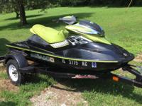 2005 Sea Doo RXP Supercharged Only 80 hours 2-seater,
