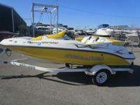15' SPORTSTER POWERED WITH ROTAX 4 TEC 155 HP ENGINE,