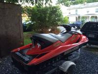 Have a nice 2005 seadoo wake edition with only 58