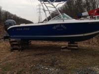Yamaha Four Stroke 150 with around 1000 hours on