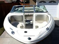 2005 Sea Ray 200 Sport Bowrider. (Length is 21) This