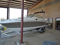 2005 Sea Ray 270 Sundeck, shown here is far and away