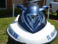 Sea Doo Waverunner 2005 and Trailer, 3 sets, 4 stroke