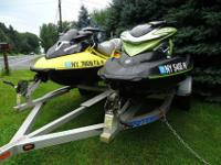 The 2005 Seadoo RXP 215 H.P. with 88.5 hours. It has a