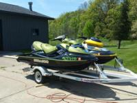 2005 RXT 215hp supercharged three seater, less than 100