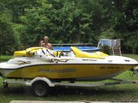FOR SALE 2005 SEA DOO 155 HP JET BOAT. THIS BOAT IS NOT
