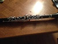 Wooden selmer clarinet in outstanding condition. The