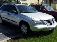 2005 Silver Chrysler Pacifica $4500 Automatic 4 door