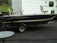 2005 Smoker Craft pro mag 140 boat for sale. The boat