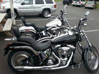 2005 Harley-Davidson Softail DEUCE, 2005 FXSTDI Black,