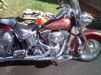 This is a mint hertiage softail it has a numbered paint