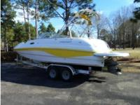 2005 Starcraft Aurora 2410 boat for sale. Holds 10