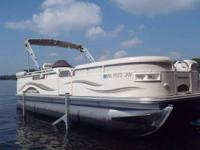 For sale is a very clean, 2005 Starcraft pontoon. It is