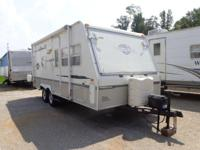 READY!....SET!.....CAMPING FUN! THIS USED HYBRID HAS: