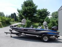 2005 STRATOS 275 PRO XL DUAL CONSOLE BASS BOAT 17 FEET