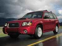 2005 Subaru Forester 2.5X CARFAX One-Owner. Silver 2.5L