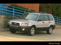 Auto fans love the anti-lock brakes of this 2005 Subaru