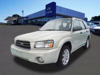 Get ready to go for a ride in this 2005 Subaru Forester