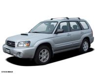 *New Arrival* This 2005 Subaru Forester (Natl) 2.5XS